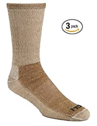 J.B. Field's Super-Wool Hiker GX Merino Wool Hiking Socks (3 Pairs)
