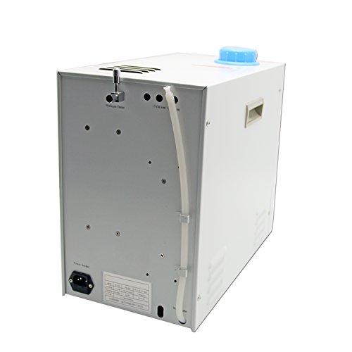 CGOLDENWALL 0-200 ml/min Lab ajustable de alta pureza Hydrogen gas generador de agua pura electrolisis hidrógeno generador utilizando tecnología SPE para ...