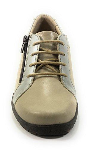 8069gc Suola Sì rimovibile Moda Donna Beige Sneakers Suave zq8Bw6naw