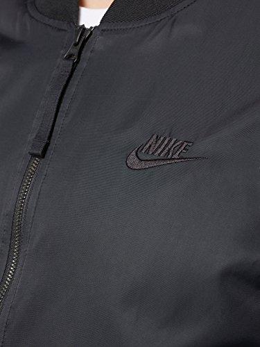 Nike Jacke Herren Bomberjacke 925436 SCHWARZ Black Men, Größe S  Amazon.de   Bekleidung e295680e5b