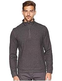 Mens Classic Quarter Zip Sweater · Calvin Klein