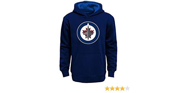 Winnipeg Jets Youth Prime Basic Pullover Fleece Hoodie