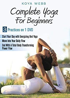 Amazon.com : Koya Webb Complete Yoga for Beginners DVD ...