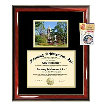 Amazon Com University Of Notre Dame Diploma Frame