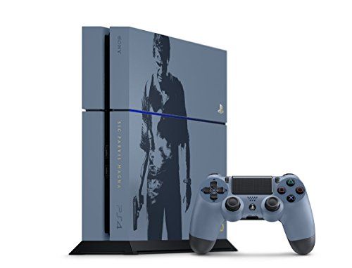 PlayStation 4 500GB Console – Uncharted 4 Limited Edition Bundle