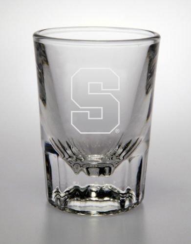 (Syracuse Orange 2 Oz Deep Etched Classic Shot Glass )