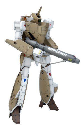 Production Type Model Kit - Macross 1/100 Scale VF-1A Battroid Production Type Construction Kit by Wave