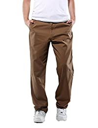 Zoe Fashion Mens Classic Cargo Twill Pant
