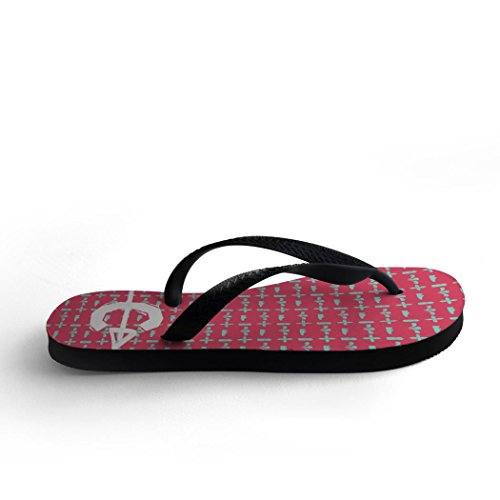 Track and Love Field Flops Country Flip and Cross Pink Track TBBdwxSR