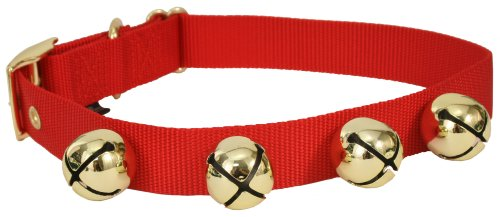 Holiday Dog Collars With Bells