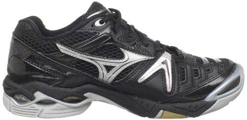 Mizuno Womens Wave Lightning 7 Volleyball Shoe Black/Silver LJJ7jj1bBz