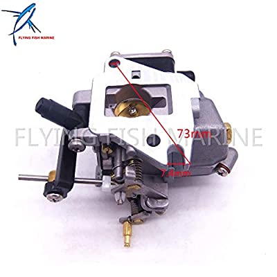 Boat Parts & Accessories 6E8-14301-05 6E7-14301 684-14301 2-Stroke 9.9Hp 15Hp Boat Motor Carburetor Carb Assy for Yamaha Outboard Engines