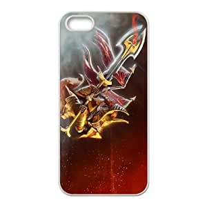 Defense Of The Ancients Dota 2 LEGION COMMANDER iPhone 4 4s Cell Phone Case White ASD3846877