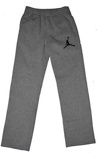 0a7cdd3b5032 Jordan Nike Air Jumpman Big Boys Athletic Sweat Fleece Pants Grey ...