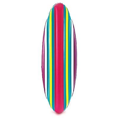 "Summer Waves 62""X21.5""Surf Board Lounge, Stripes"