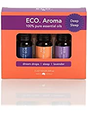 ECO. Modern Essentials Aroma Deep Sleep Pure Essential Oil Trio Pack, 3 count