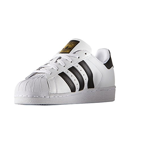 Chaussures Black Cuir W White Adidas Blanc Core 80s Femme Sneakers Superstar Et Rose Baskets pxSYna