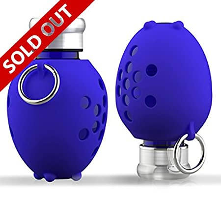 Vitbot Glass - Vitalizer Bottle - Su forma ovoide y Proporción Phi, permite que el agua se mueva en vórtice y como consecuencia, recupere su vitalidad ...