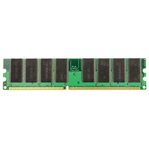 1GB DDR-266 PC-2100 184pins Non-ECC Desktop Memory RAM - Computer Components Memory - 1x 1GB PC-2100 SDRAM Desktop Memory Ram ()