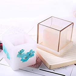 Candle Molds 3pcs Square & Cylinder Hollow Cen