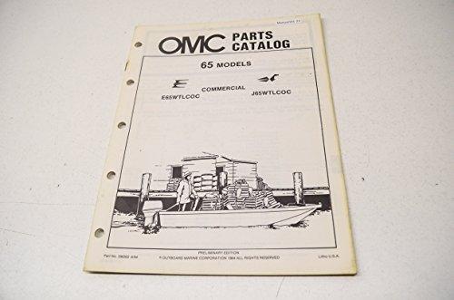 alog 65 Commercial Models E65WTLCOC J65WTLCOC QTY 1 (Omc Parts Catalog)
