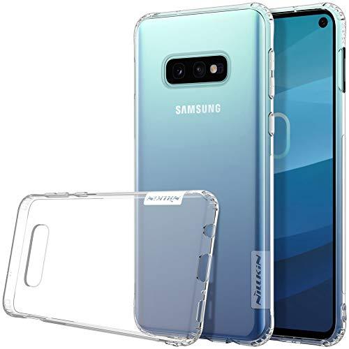 Nillkin Case for Samsung Galaxy S10e S 10e (5.8″ Inch) Nature Series Back Soft Flexible TPU White Color