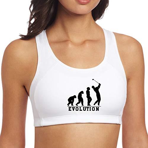 YUANSHAN Yoga Vest Bra Golf Evolution Fashion Workout Sport Gym Clothes Fitness Yoga Vests Tank Tops Activewear Bra ()