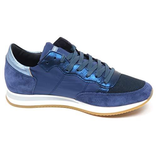 Model Scarpe Philippe Donna E8938 Blu Shoe Tropez Woman Sneaker 6ddqwZg