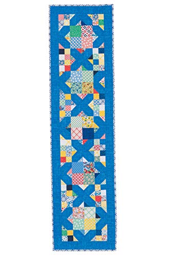 Connecting Threads Table Runner Quilting Kit (Farmer's Market) -