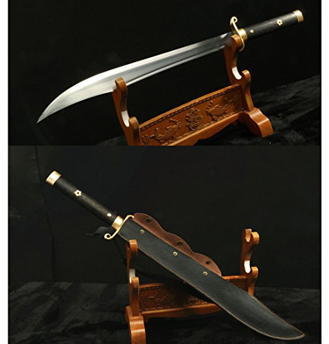 1095 Carbon Steel Blade Hand Made Chinese Sword DAO ()