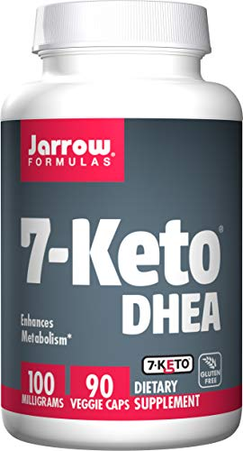 Jarrow Formulas 7-Keto DHEA, Enhances Metabolism, 100 mg, 90 Caps from Jarrow Formulas