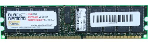 Memory-Up Exclusive 1GB ECC Registered DDR SDRAM DIMM Upgrade for Dell PowerEdge 6600 6650 7250 Desktop PC2100 Computer Memory (RAM)