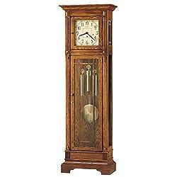 Greene Ii 79.5H Grandfather Clock Heritage Oak Dimensions: 25.5W X 14D X 79.5H Weight: 125 Lbs