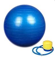 Übung Gymnastikball, Yoga, Pilates-Ball 65 cm mit Pumpe Lila, Rot oder Blau...