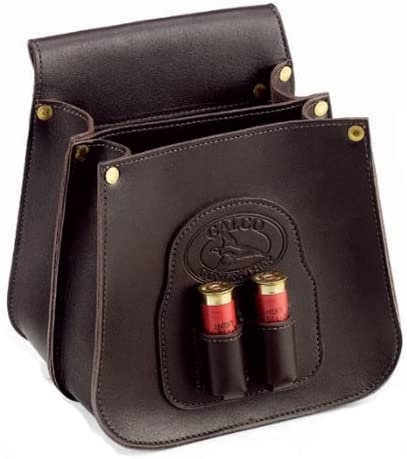 B003ZV1BQ8 Galco Field Grade Shell Leather Pouch (50-Count), Dark Havana Brown 413dy6pMdWL.