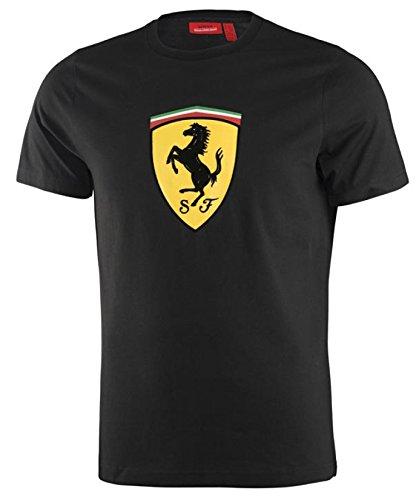 Ferrari Black Kimi Raikkonen #7 Logo Tee Shirt