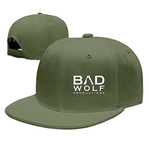 [Runy Custom Bad Wolf Adjustable Baseball Hat & Cap ForestGreen] (Mens Dallas Cowboy Football Costumes)