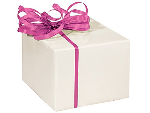 PEARL Recycled Gloss 24'' x 417'Solid Color Gift Wrap Counter Roll (1 unit, 1 pack per unit.) by Nas