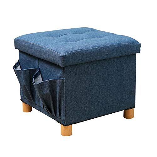 Storage OttomanStool Folding Bench Toy Box Chest Seat Foot Rest Stool Decoration Ottoman Seating Storage Bench for Kids