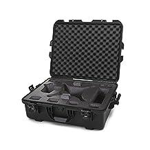 Nanuk 945 Waterproof Hard Drone Case with Custom Foam Insert for DJI Phantom 4/ Phantom 4 Pro (Pro+) / Advanced (Advanced+) & Phantom 3 - Black