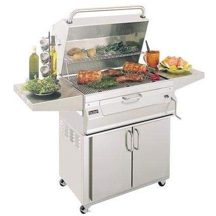 Fire Magic Legacy 22-SC01C-61 Stand Alone Charcoal Grill with Smoker Oven/Hood - Fire Magic Charcoal Oven