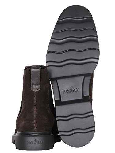 Hogan Homme HXM3040W330E5US807 Marron Suède Bottines