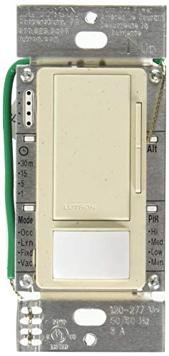 Lutron MS-Z101-ST Lighting Controls with Passive Infrared Sensors Stone