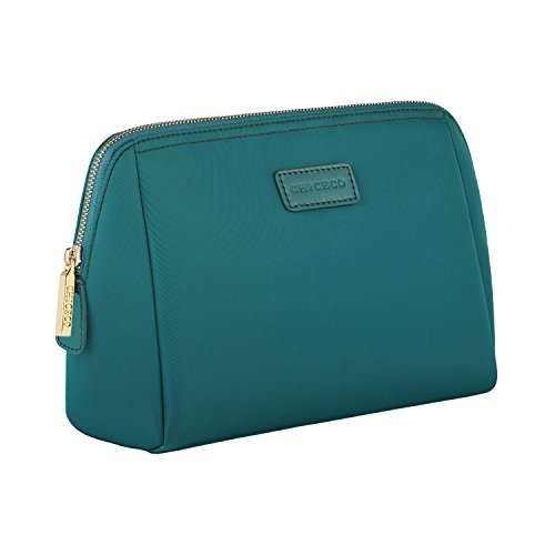CHICECO Large Makeup Bag Toiletry Bag for Women Skincare Cosmetic Pouch - Turquoise