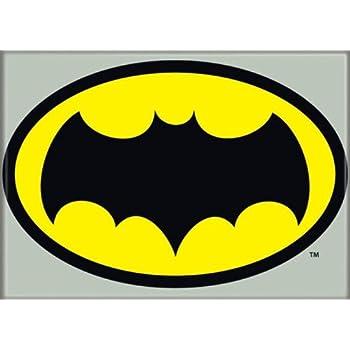 Amazon.com: Batman 1966 - Bat Logo - Refrigerator Magnet ...  Amazon.com: Bat...