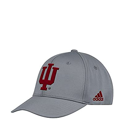 adidas Indiana Hoosiers Climalite Adjustable Sideline Coaches Hat