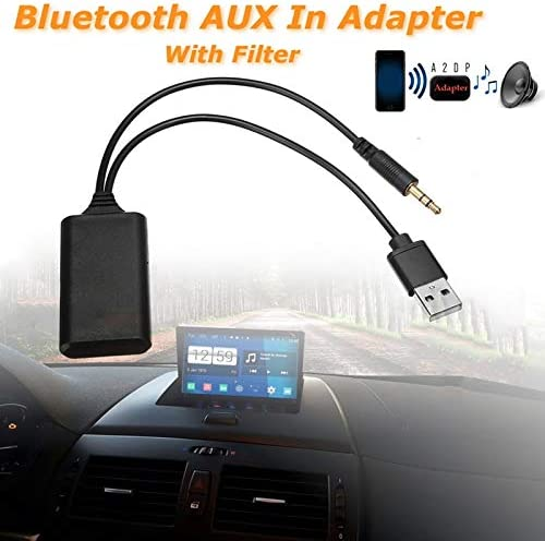 Suuonee Car Audio AUX Cable Universal Car Audio AUX Auxiliary Adapter Cable 8 Pin Plug Fits for Suzuki HRV Swift Jimny