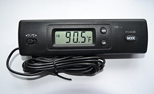 Auto Vehicle Digital Thermometer Clock product image