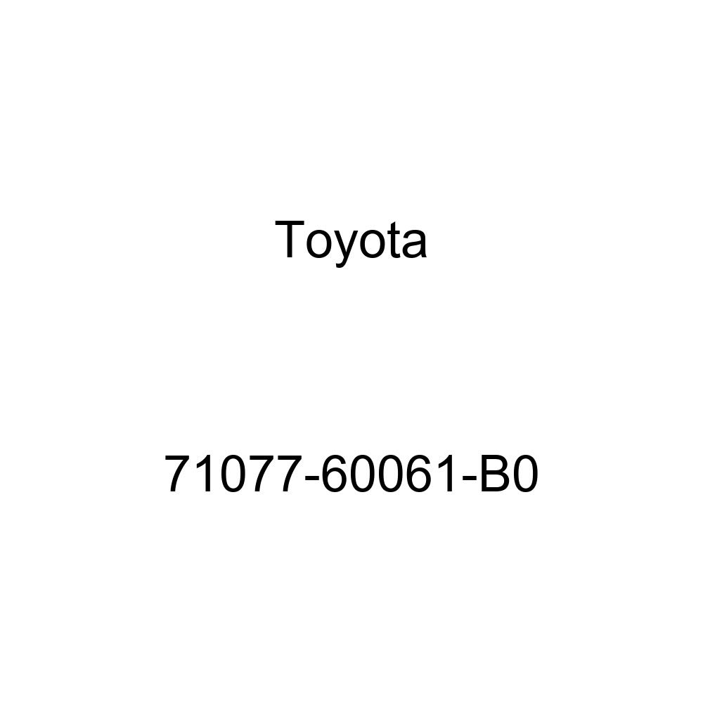 TOYOTA Genuine 71077-60061-B0 Seat Back Cover