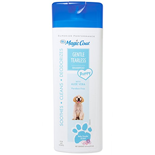 Four Paws 100526432 Magic Coat Tear-Free with Aloe Vera Puppy Shampoo, 16 oz